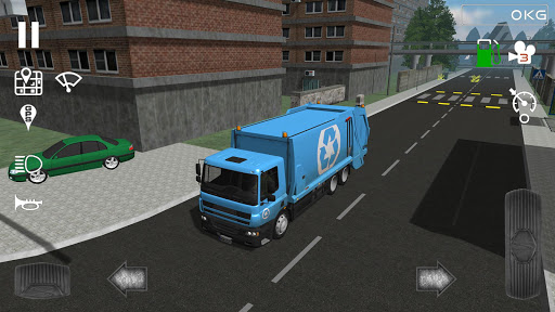 Trash Truck Simulator  captures d'écran 1
