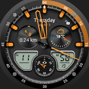 Fury Watch Face- screenshot thumbnail