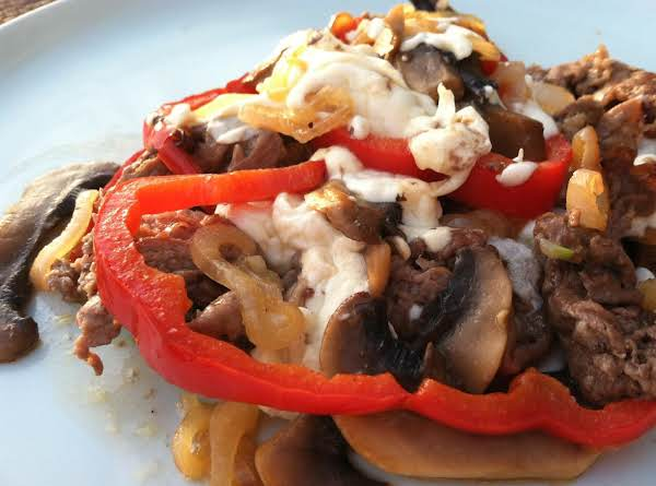 Deconstructed Philly Cheese Steak Recipe
