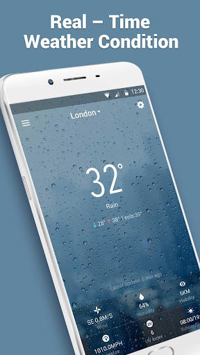 Personal Weatherman Widget screenshot