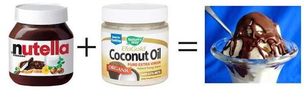 Homemade Nutella Magic Shell Recipe