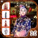 Hijab Dress Batik Party icon
