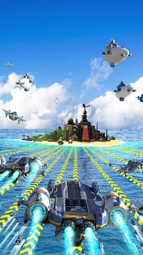 Sea Game: Mega Carrier screenshots 17
