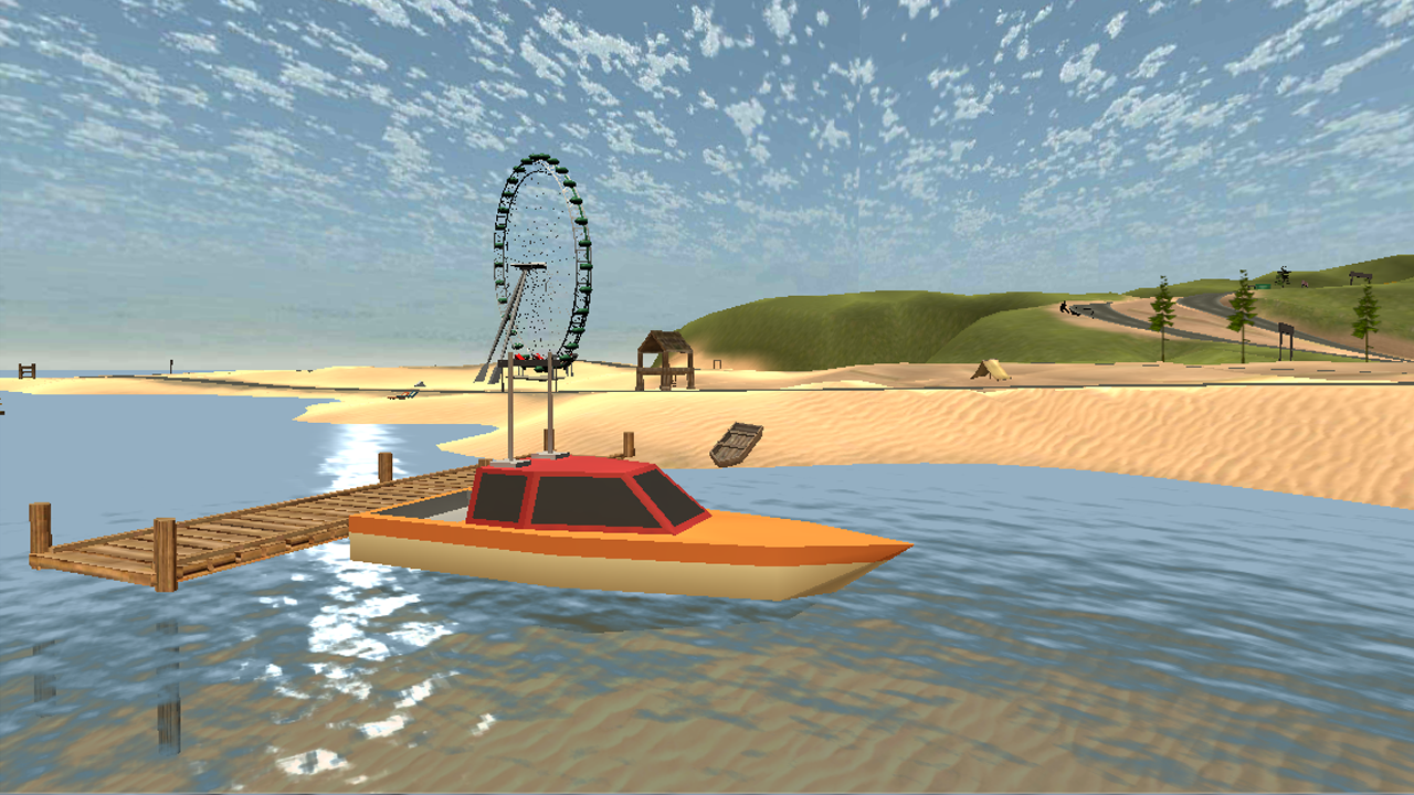 Off-Road 4x4 Racer 3D game- screenshot
