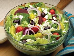 "Photo: This is a national grece salad called "" Greek Salad "" -->http://www.becook.com/en/recipe/greek-salad.htm"