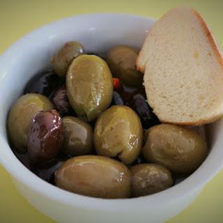 Martini Marinated Olives