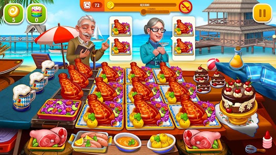 Cooking Hot Mod Apk- Craze Restaurant Chef (Unlimited Money) 5