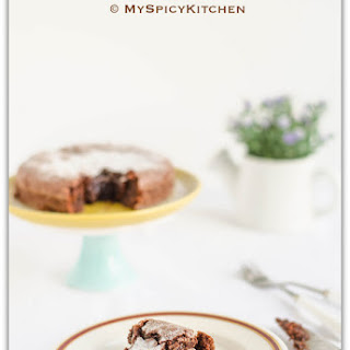 Swedish Chocolate Cake ~ Kladdkaka Recipe