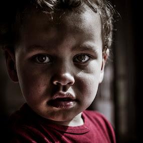 The Boy by Annelie Hallberg - Babies & Children Child Portraits