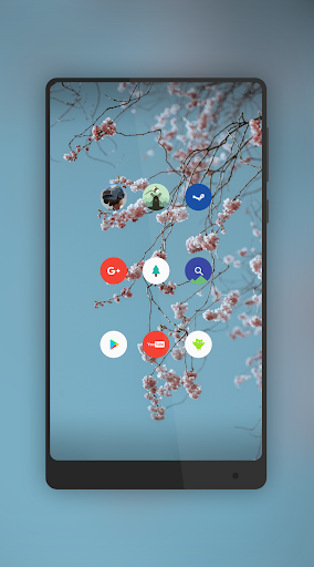 Pure - Icon Pack ( Flat Design ) app for Android screenshot