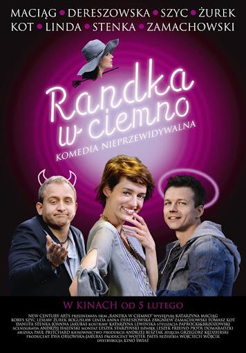 Polski plakat filmu 'Randka W Ciemno'