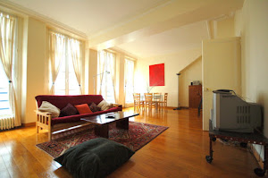 2 bedroom  family apartment for 7 in the heart of Louvre