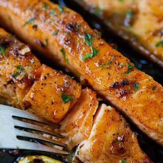 Honey Garlic Salmon #Recipe
