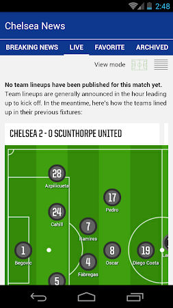 Latest Chelsea News & Transfer 5.6 screenshot 978518