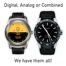 Watch Face - Minimal & Elegant for Android Wear OSのおすすめ画像4