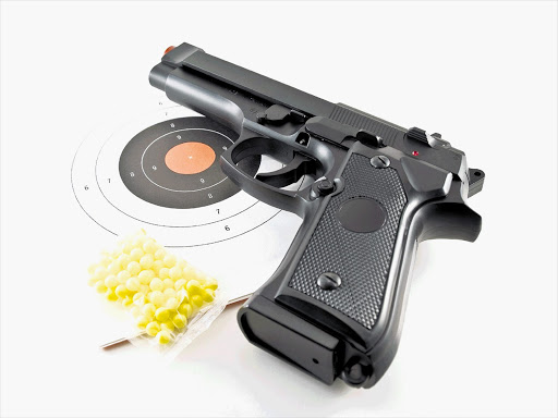 Toy gun. File photo