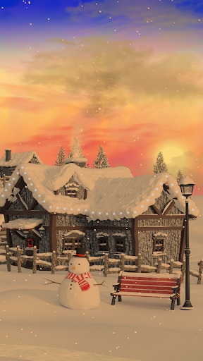 Christmas Village Live Wallpaper screenshot 4
