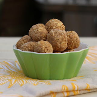 Peanut Butter and Apple Oat Balls.
