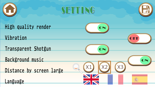 Realistic Shooting - Hunting small games 1.3.0 screenshots 2