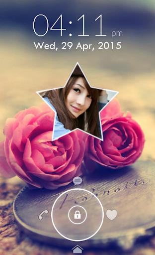 Star Photo Lock Screen