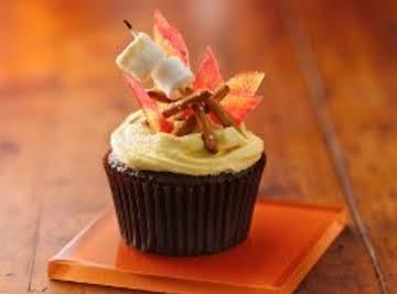 Campfire S'more Cupcakes
