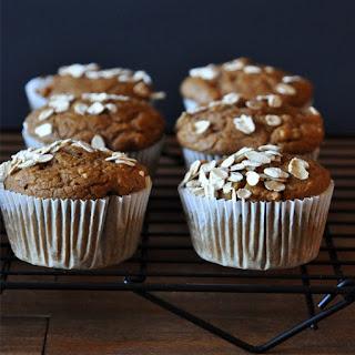 Vegan Pumpkin Apple Muffins
