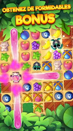 Tropicats: Un Jeu de Chat Gratuit Match 3 Puzzle  captures d'écran 2