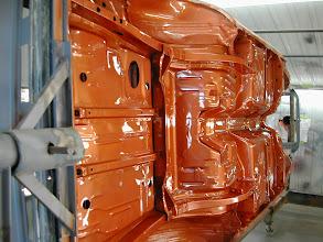 Photo: burnt orange on the bottom of the 70 challenger wss