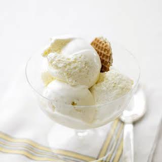 Vanilla Ice Cream.