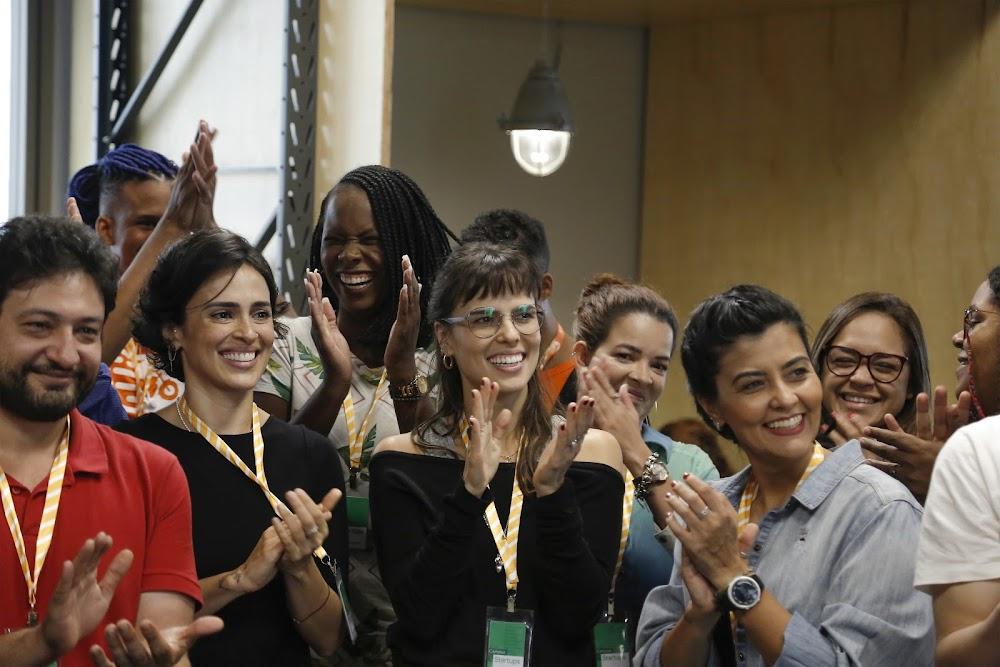 Participantes da Turma #1/2020 na sessão de boas vindas do Startup Zone