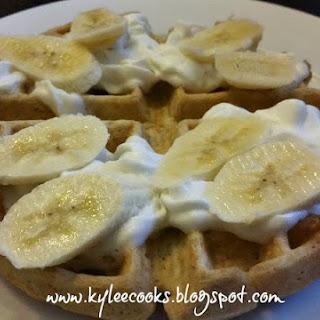 Oatmeal Waffles (Freezer Friendly)