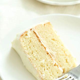 The Very Best Gluten Free Vanilla Cake.