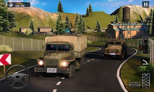 US Army Cargo Truck Transport Military Bus Driver 7