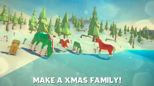 Einhorn Weihnachtssimulator Familie Frohes Neues Jahr Screenshots 2