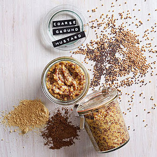 Homemade Coarse Ground Mustard