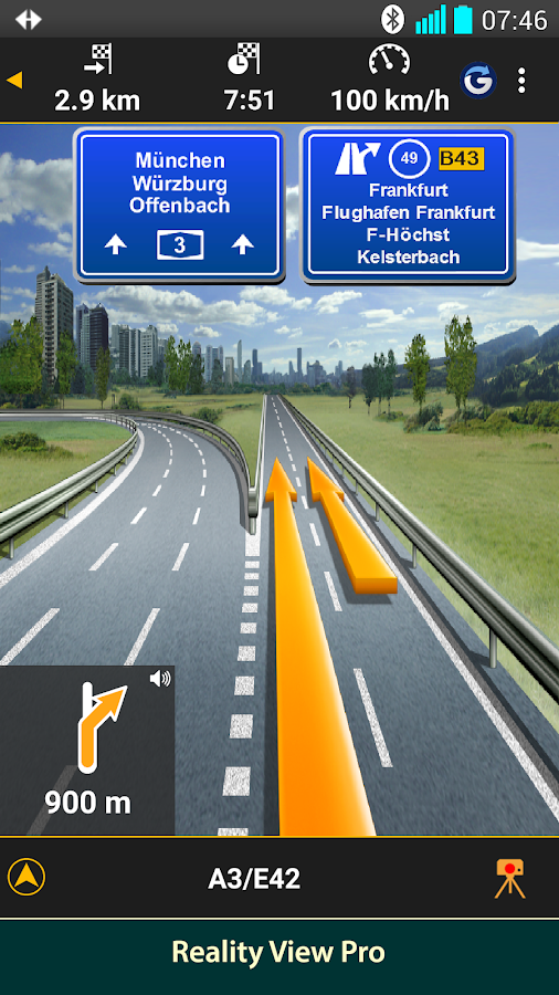 NAVIGON Italy- screenshot