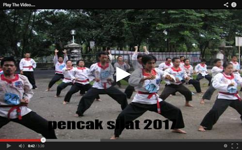 Belajar Pencak Silat 2017 - náhled