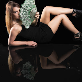 Reflection's by Justin Prosolow - People Portraits of Women ( studio, reflection, portrait photographers, creative, canon )