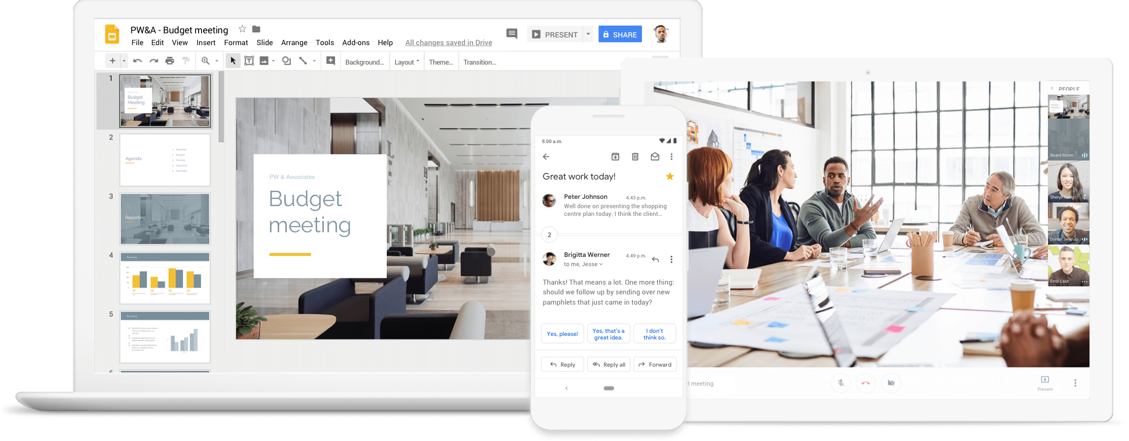 G Suite products