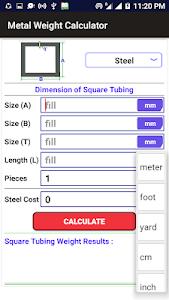 Steel Weight Calculator