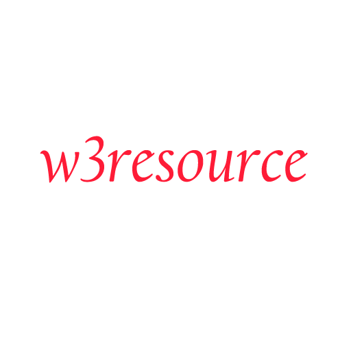 w3resource