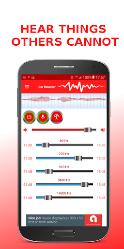 Ear Booster - Better Hearing: Mobile Hearing Aid 1.6.7 screenshots 2
