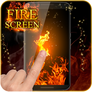 Fire Screen Prank for PC and MAC