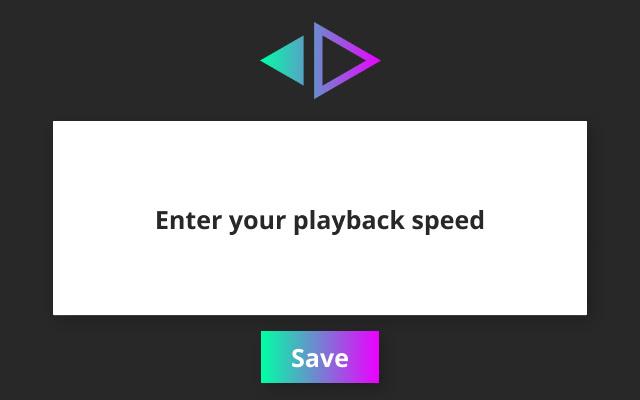 Speed - Global Video/Audio Speed Changer