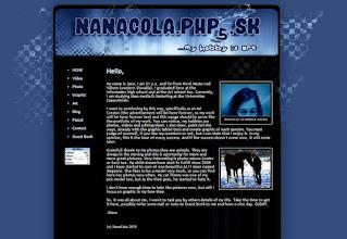 Photo: New website template