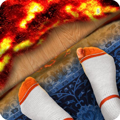 The Floor Is Lava House Simulator Icon