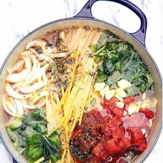 One Pot Wonder Pasta.