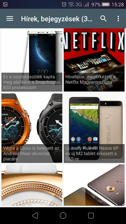 Upfone.hu techmagazin- screenshot