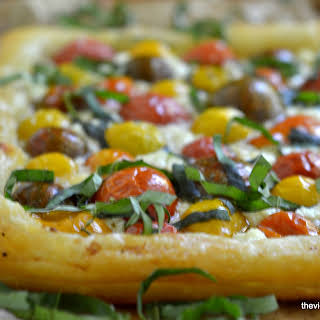 Heirloom Cherry Tomato Tart.