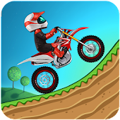 Hill Climb Motor Bike Racing